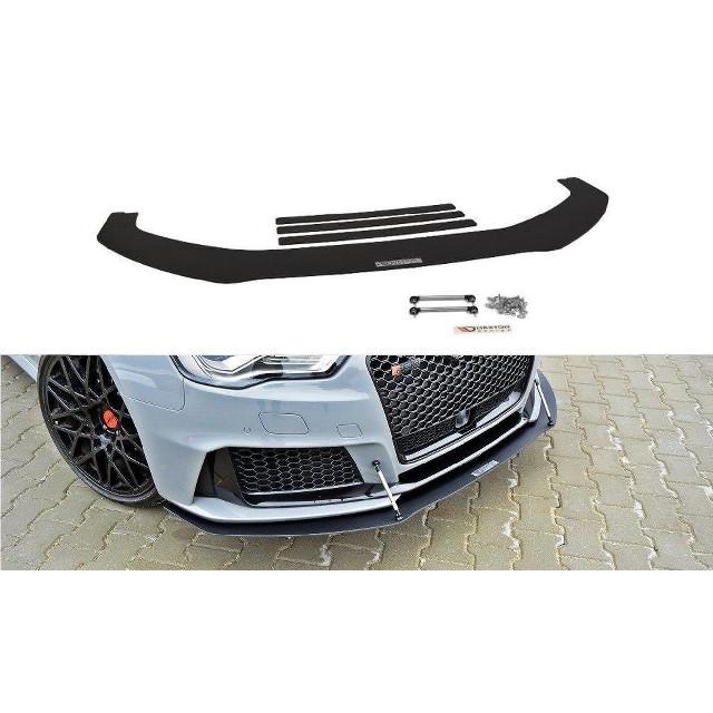 Racing Cup Spoilerlippe Front Ansatz für Audi RS3 8VA SPORTBACK