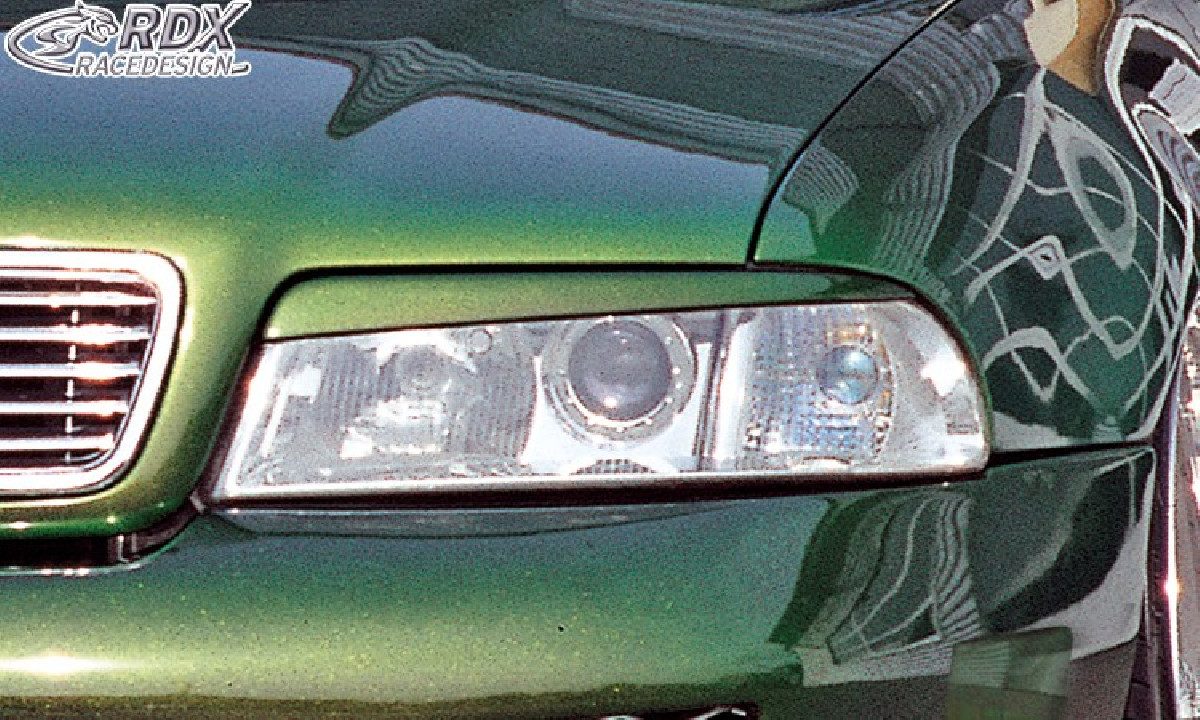 Scheinwerferblenden für AUDI A4 B5 Facelift ab 1999 Böser Blick