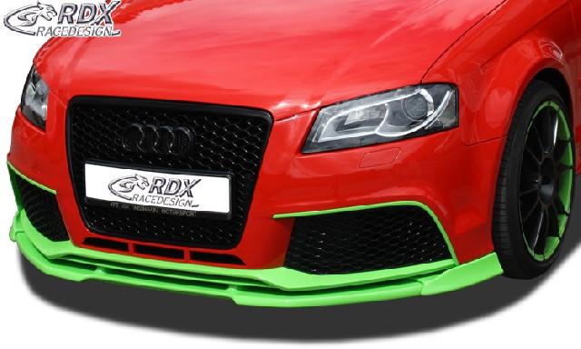 Frontspoiler  für AUDI RS3 2011+ (3türig + Sportback) Frontlippe Front Ansatz Vorne Spoilerlippe