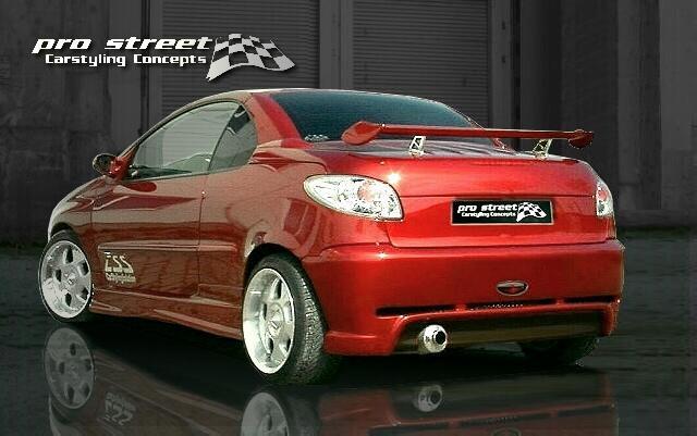 komplettes Bodykit SF1- Peugeot 206 / 206CC