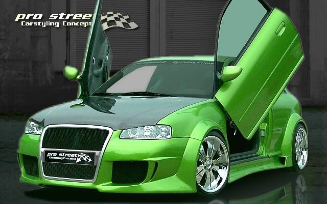 XTR-RACING Line Wide Bodykit Audi A3 Typ 8L 3-Türer