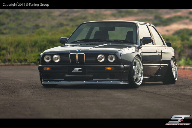 Breitbau Wide Bodykit BMW E30 2dr Coupe