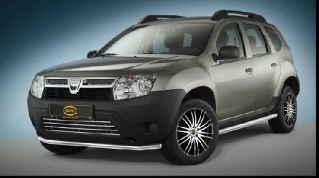 Dacia Duster Cityguard Edelstahl Ø 48mm