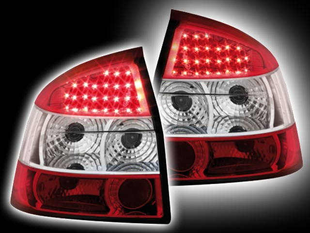 LED Rückleuchten Audi A4 8E Lim. (01-04) red/crystal