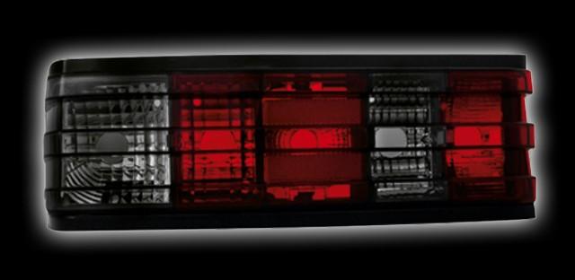 Rückleuchten Mercedes 190E W201 (82-93) red/black