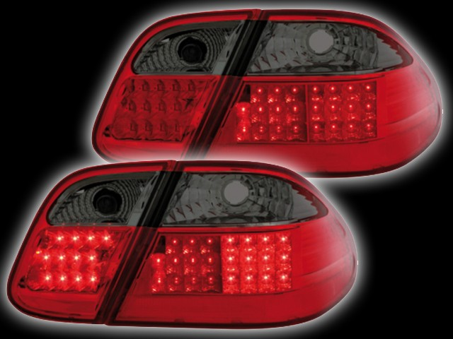 LED Rückleuchten Mercedes CLK C208 (06.97-02) red/smoke
