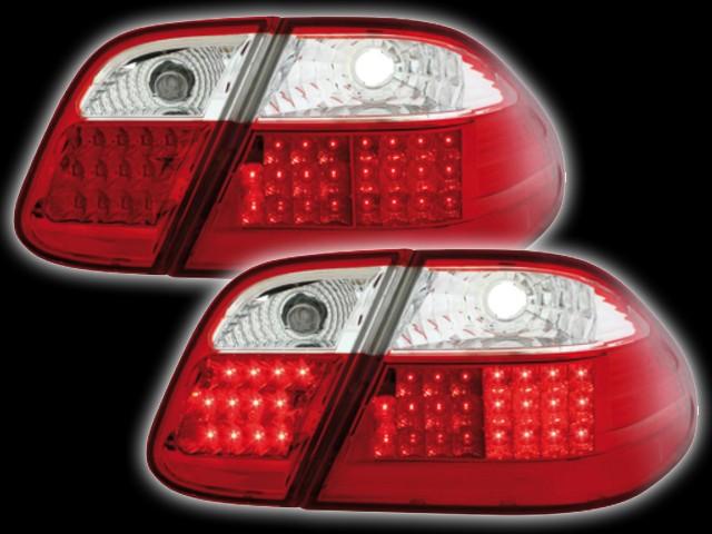 LED Rückleuchten Mercedes CLK C208 (06.97-02) red/crystal