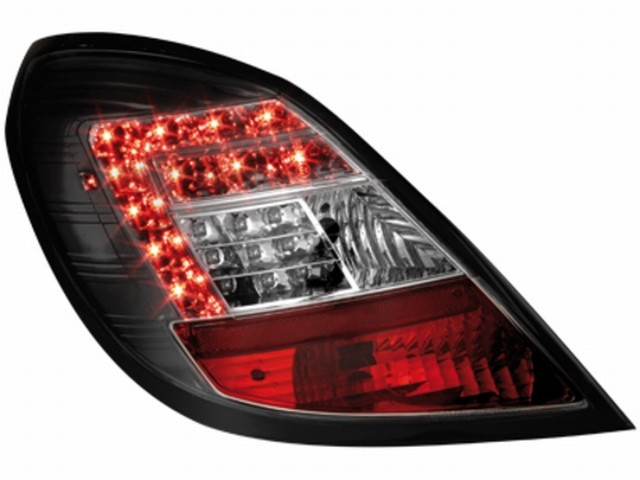 LED Rückleuchten Opel Corsa D 06-08 5T black