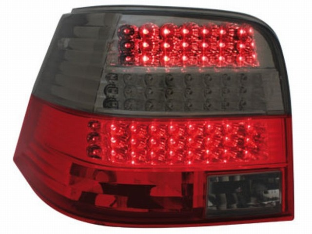 LED Rückleuchten VW Golf IV 97-04 red/smoke_ LED Blinker