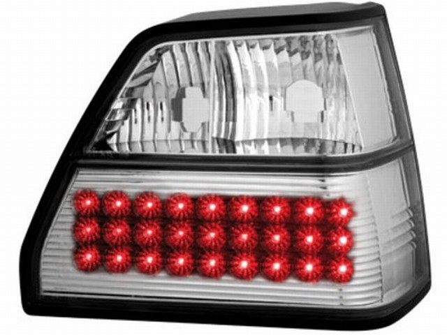 LED Rückleuchten VW Golf II 83-92 crystal