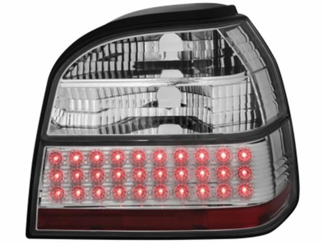 LED Rückleuchten VW Golf III 91-98 crystal