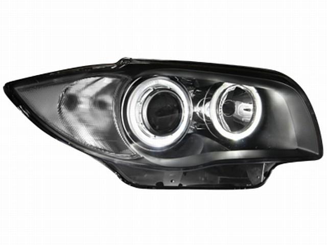 Scheinwerfer BMW 1er E87 04-07 2 Standlichtringe black