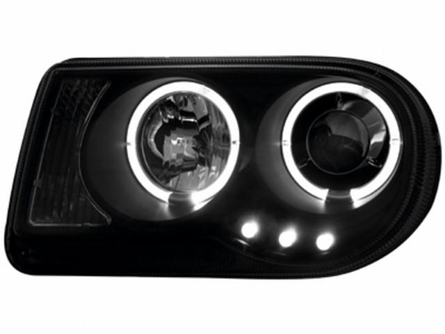Scheinwerfer Chrysler 300C (04-08) 2 Standlichtringe black