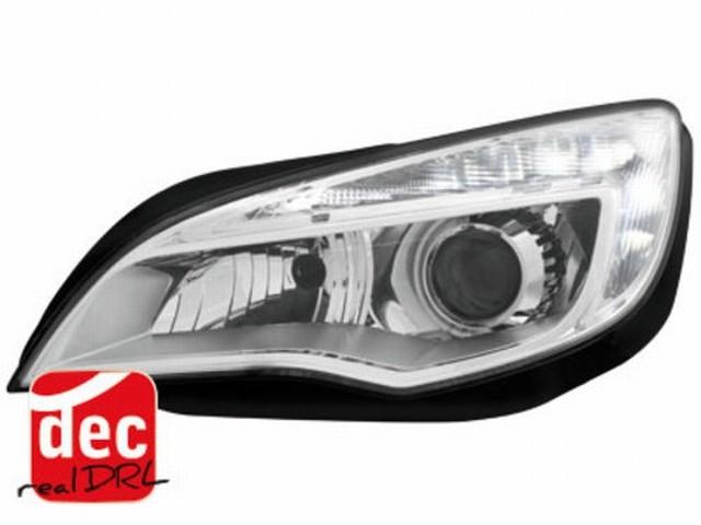Tagfahrlicht Scheinwerfer Opel Astra J 10+ chrom