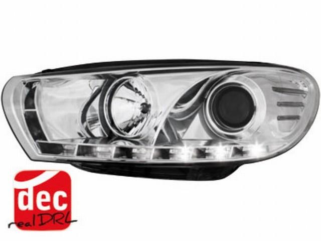 Tagfahrlicht Scheinwerfer VW Scirocco III chrom