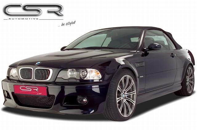 CSR Frontstoßstange BMW 3er E46 Bj. 1998-2007 für Coupe/Cabr, X-Line aus ABS