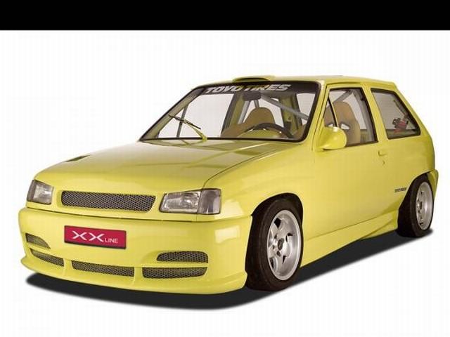 CSR Frontstoßstange Opel Corsa A Baujahr 1983-1993, XX-Line