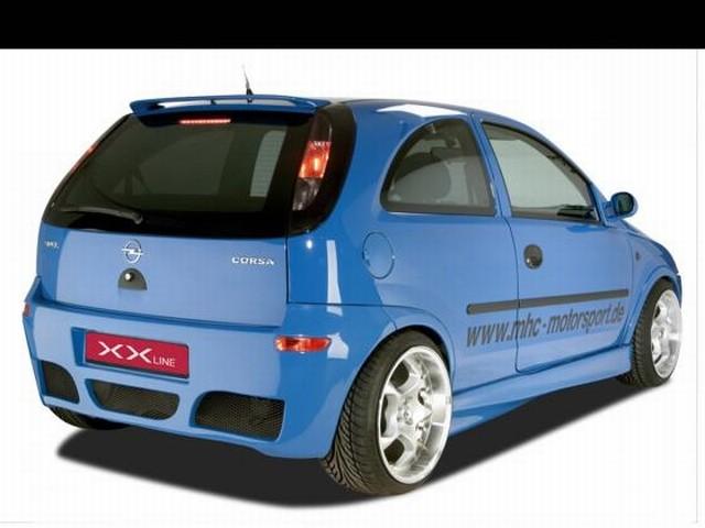 CSR Heckstoßstange Opel Corsa C Baujahr 2000-2006