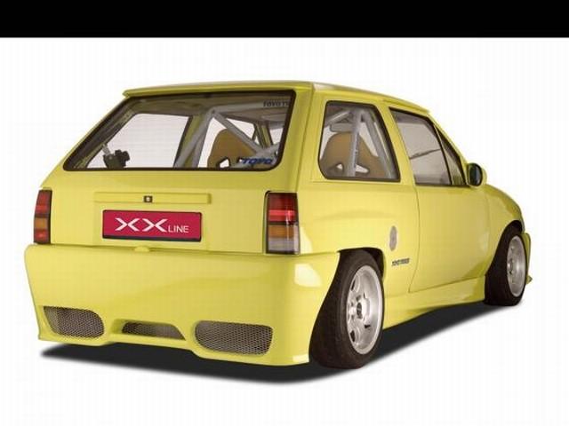 CSR Heckstoßstange Opel Corsa A Baujahr 1983-1993