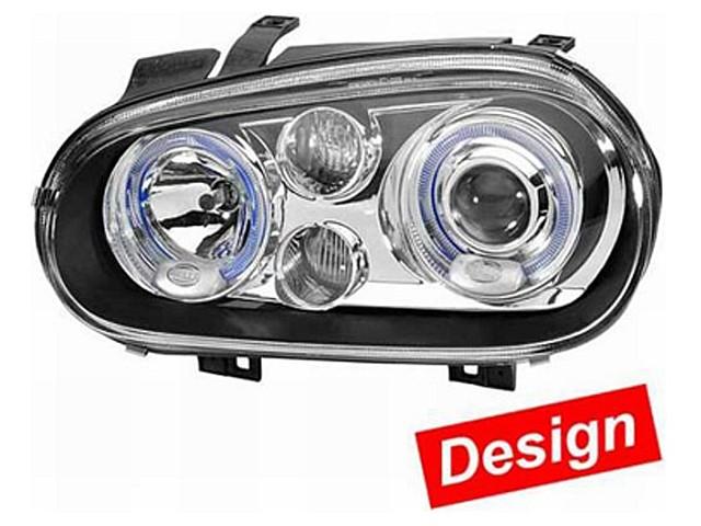 Hella Upgrade Scheinwerfer Set Nebellicht Golf 4 Cabriolet glasklar