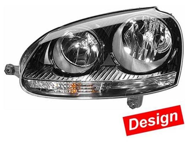Hella Upgrade Scheinwerfer Set VW Golf V (1K1) Bj. ab 05/04 schwarz
