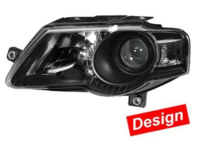 Hella Upgrade Scheinwerfer Set VW Passat 3C (B6) Bj. ab 03/05 schwarz