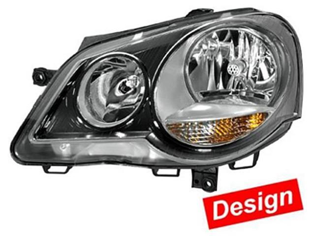 Hella Upgrade Scheinwerfer Set VW Polo IV (9N2) Bj. ab 04/05 schwarz