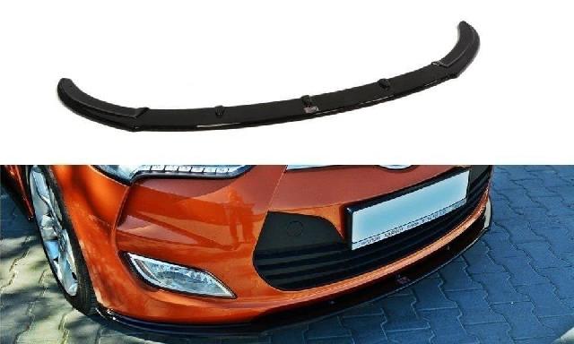 FRONTDIFFUSOR Hyundai Veloster Glanzend