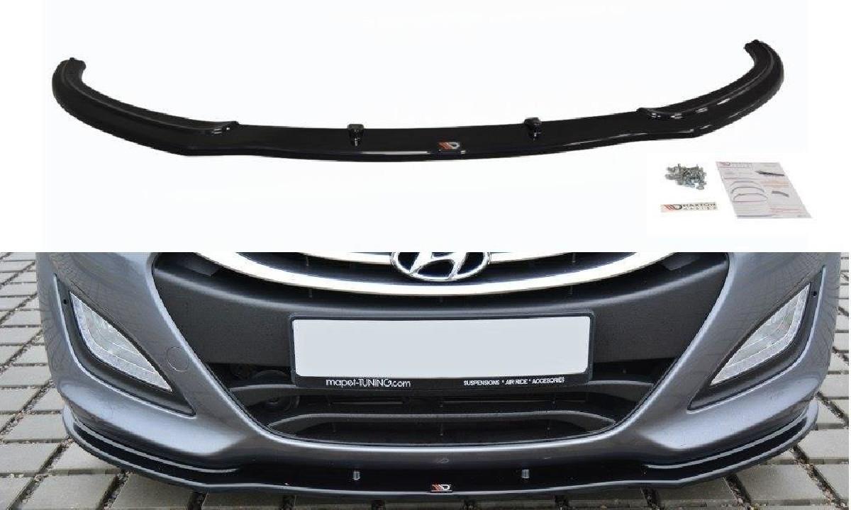 FRONTDIFFUSOR Hyundai i30 mk.2 Hochglanz Schwarz