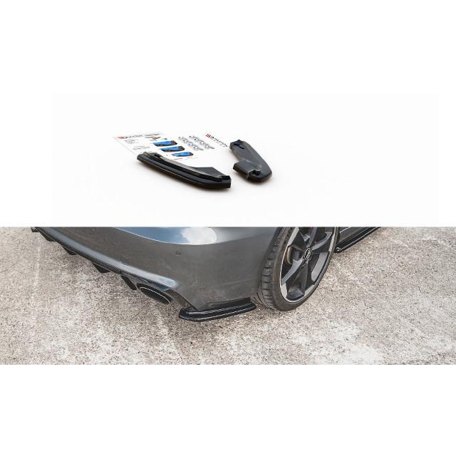 Heck Ansatz Flaps Diffusor V.1 für Audi RS3 8V Sportback schwarz matt