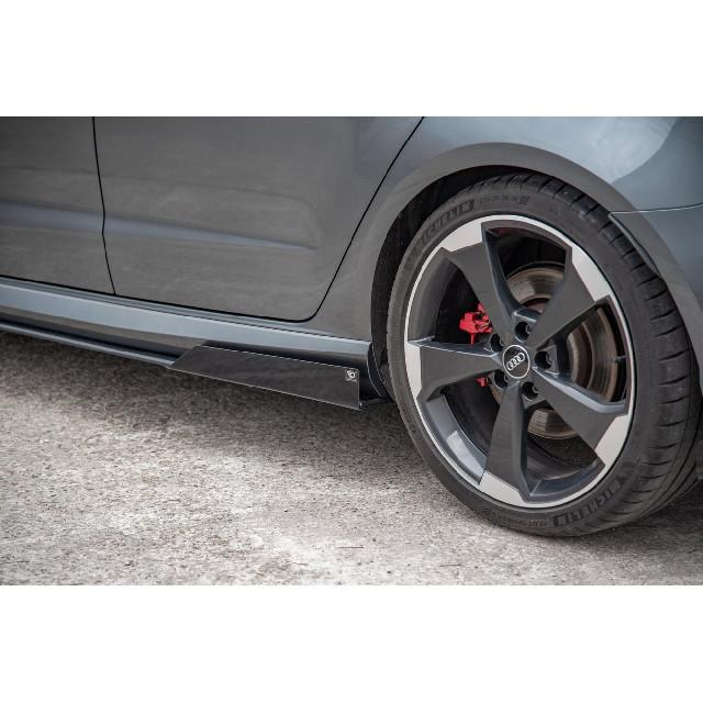 Seiten Schweller Racing Flaps für Audi RS3 8V Sportback