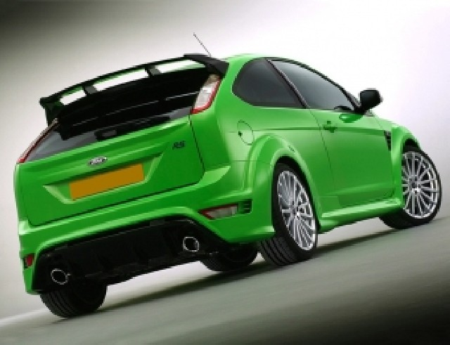 Ford Focus 2 Facelift RS Heckflugel