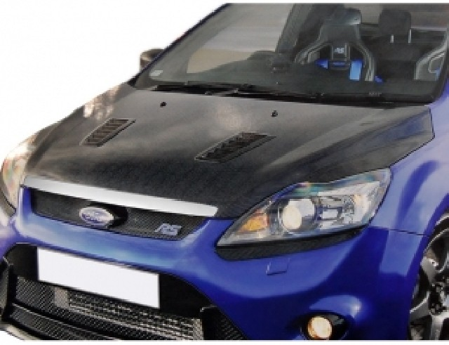 Ford Focus 2 Facelift RS-Look Carbon Motorhaube