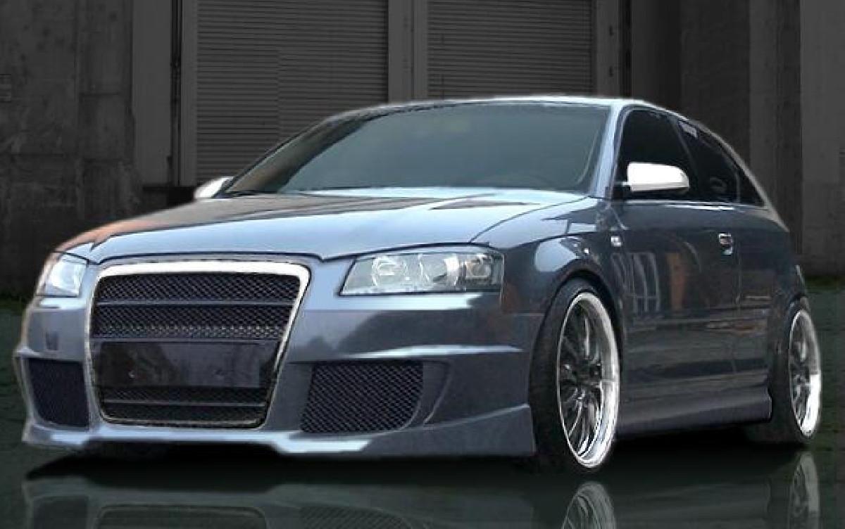 XTR-Single Frame  Frontschürze jetzt für Audi A3 Typ 8P