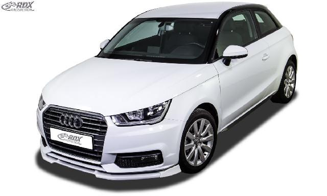 Frontspoiler  für AUDI A1 8X & A1 8XA Sportback (01/2015+, nicht S-Line) Frontlippe Front Ansatz Vorne Spoilerlippe