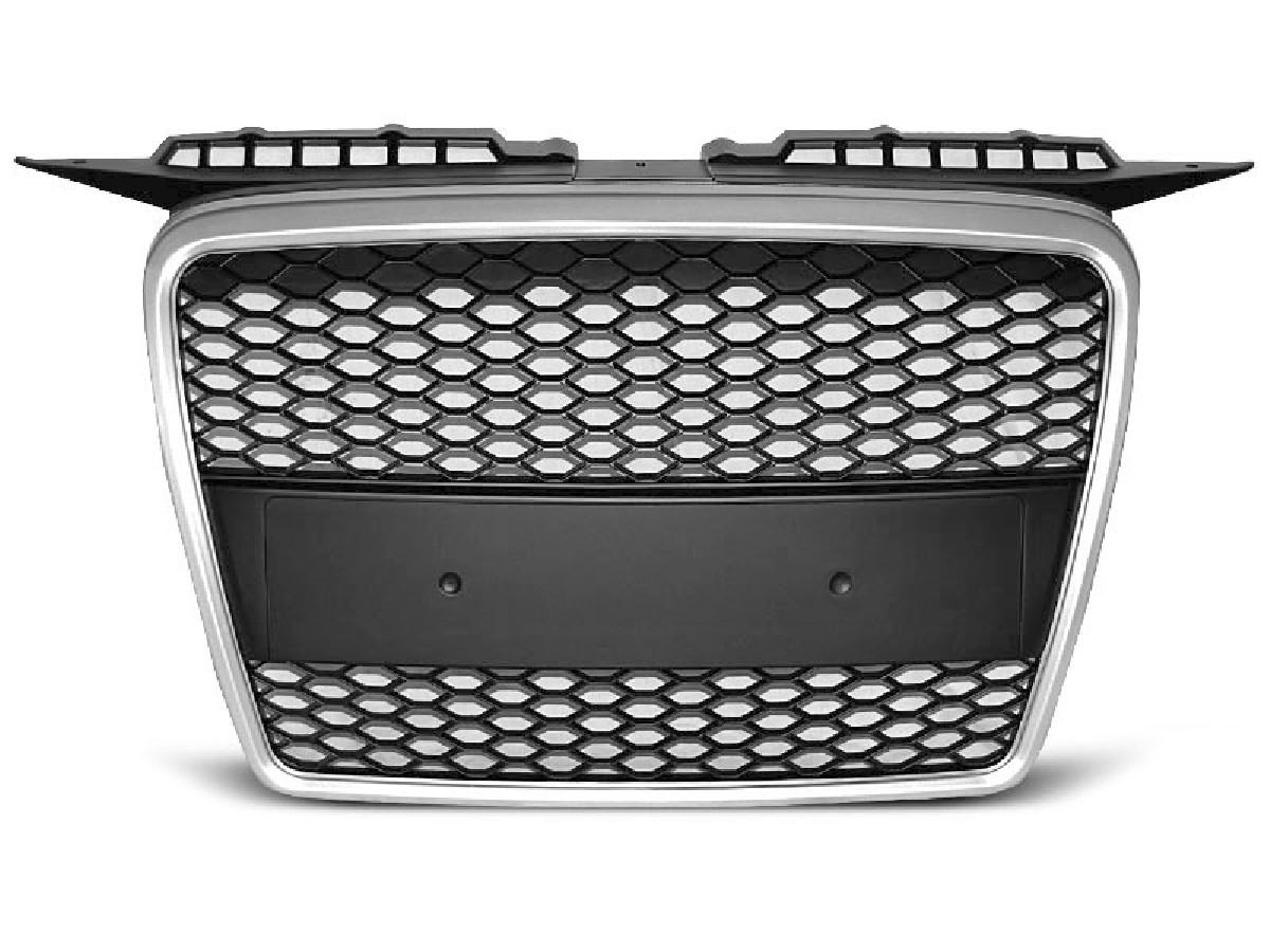 GRILLE SPORT SILVER fits AUDI A3 06.05-03.08