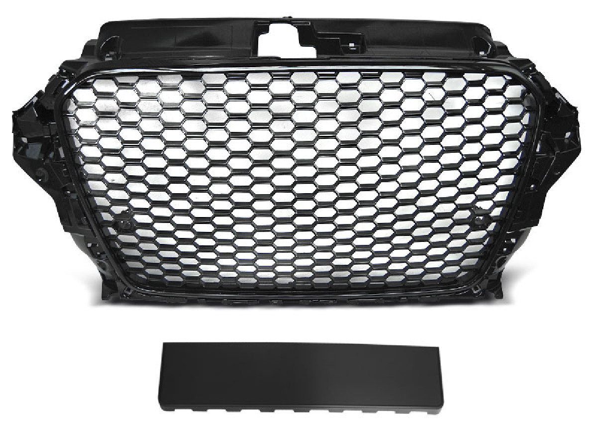 GRILLE SPORT GLOSSY BLACK fits AUDI A3 (8V) 12-16