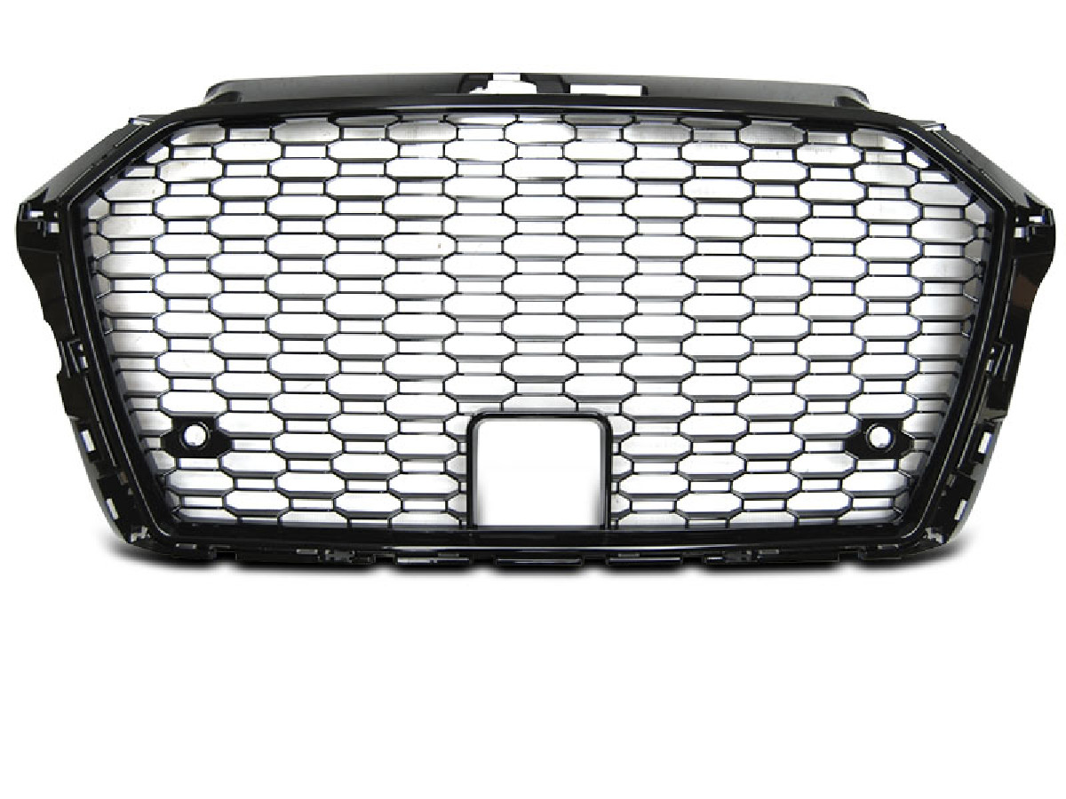 GRILLE SPORT GLOSSY BLACK fits AUDI A3 (8V) 17-
