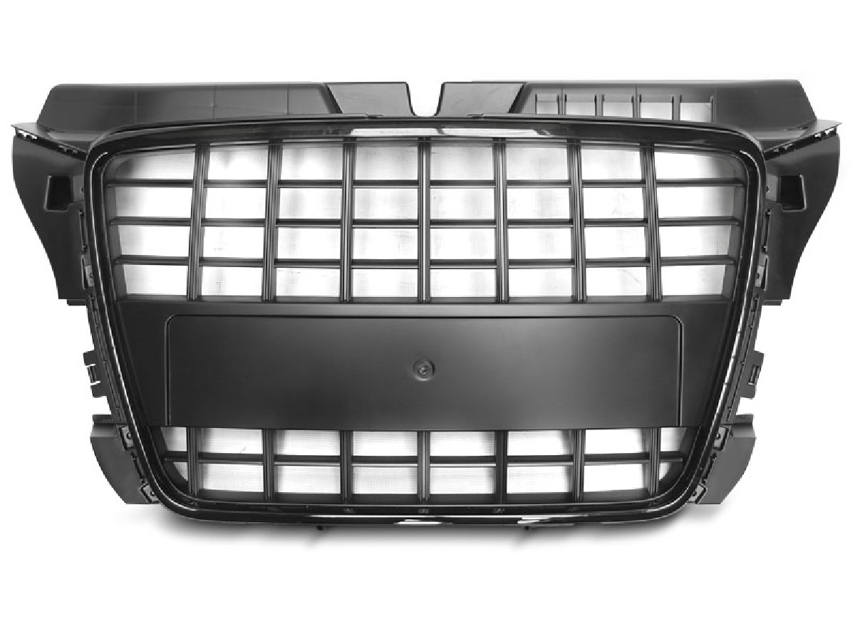 GRILLE SPORT GLOSSY BLACK fits AUDI A3 08-12