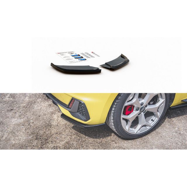 Heck Ansatz Flaps Diffusor passend für Audi A1 S-Line GB