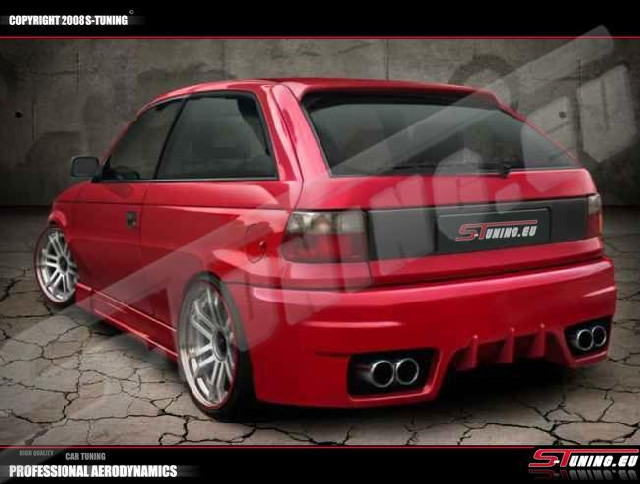 Heckstoßstange Opel Astra F