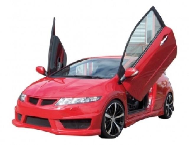 Honda Civic MK8 Aggressive Seitenschweller