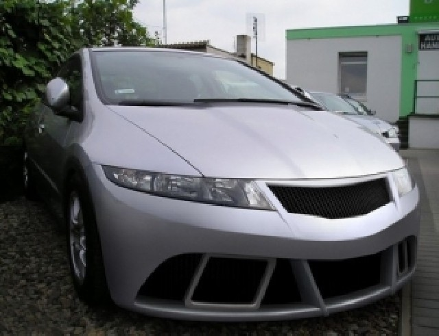 Honda Civic MK8 EDS Frontstossstange
