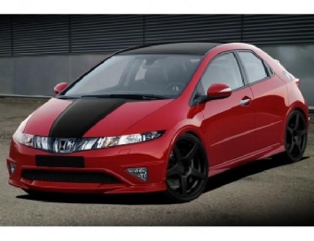 Honda Civic MK8 MX Frontansatz