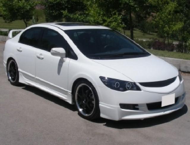 Honda Civic MK8 Mugen-Style Frontansatz