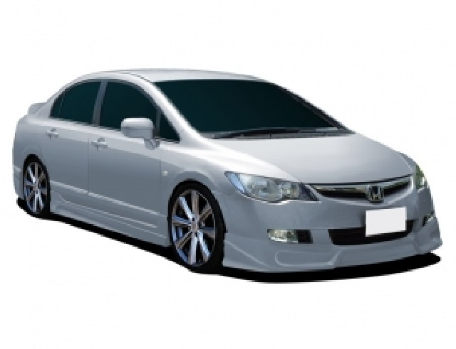 Honda Civic MK8 Street Frontansatz