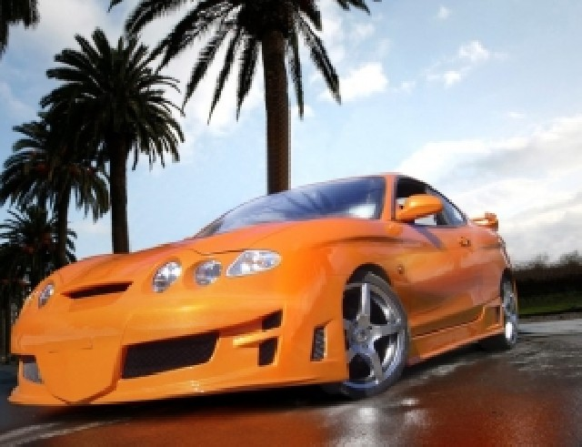 Hyundai Coupe Cyclone Frontstossstange