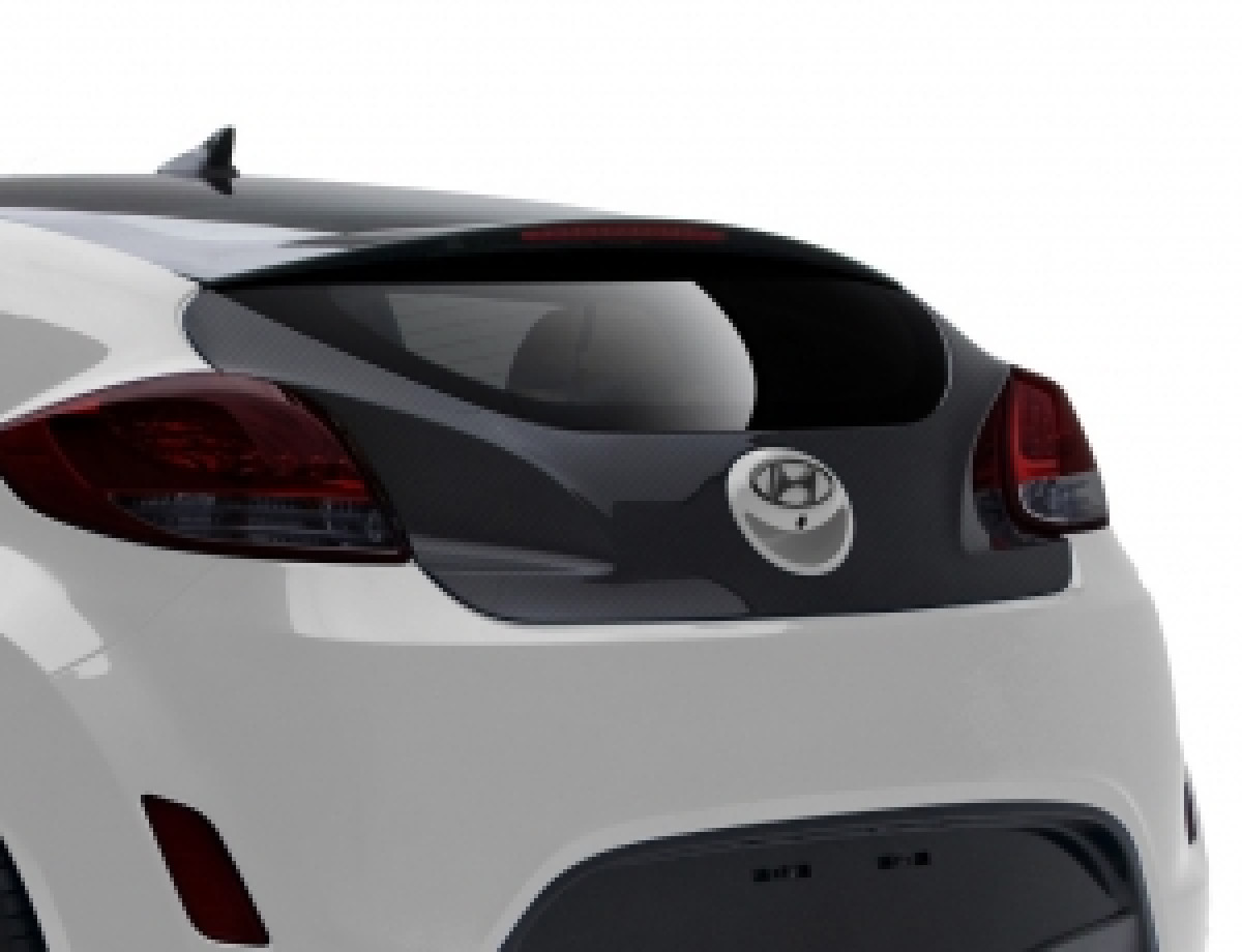 Hyundai Veloster OEM Carbon Kofferraumdeckel