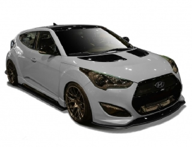 Hyundai Veloster Turbo Evolva Carbon Body Kit
