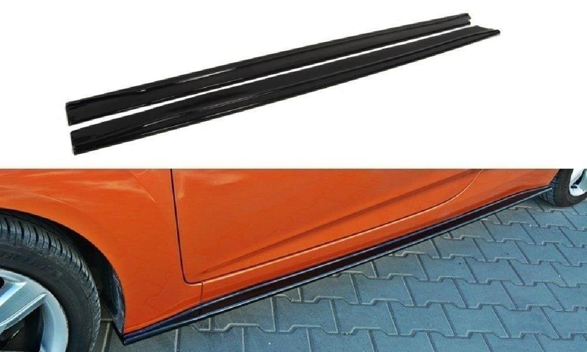 Seitenschweller Diffuser  HyundaiVeloster Schwarz